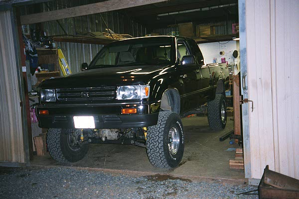 Toyota 4Runner Lifted >> Erik's '97 T100 Suspension Lift Project